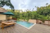 Lokha villa私人泳池