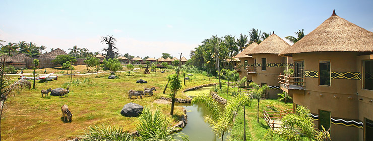 Mara river safari lodge園區景觀